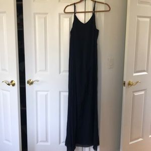 Alice and Olivia size medium navy gown w/ shawl